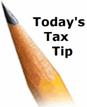 today's tax tip